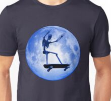 Skateboarding skeleton Unisex T-Shirt