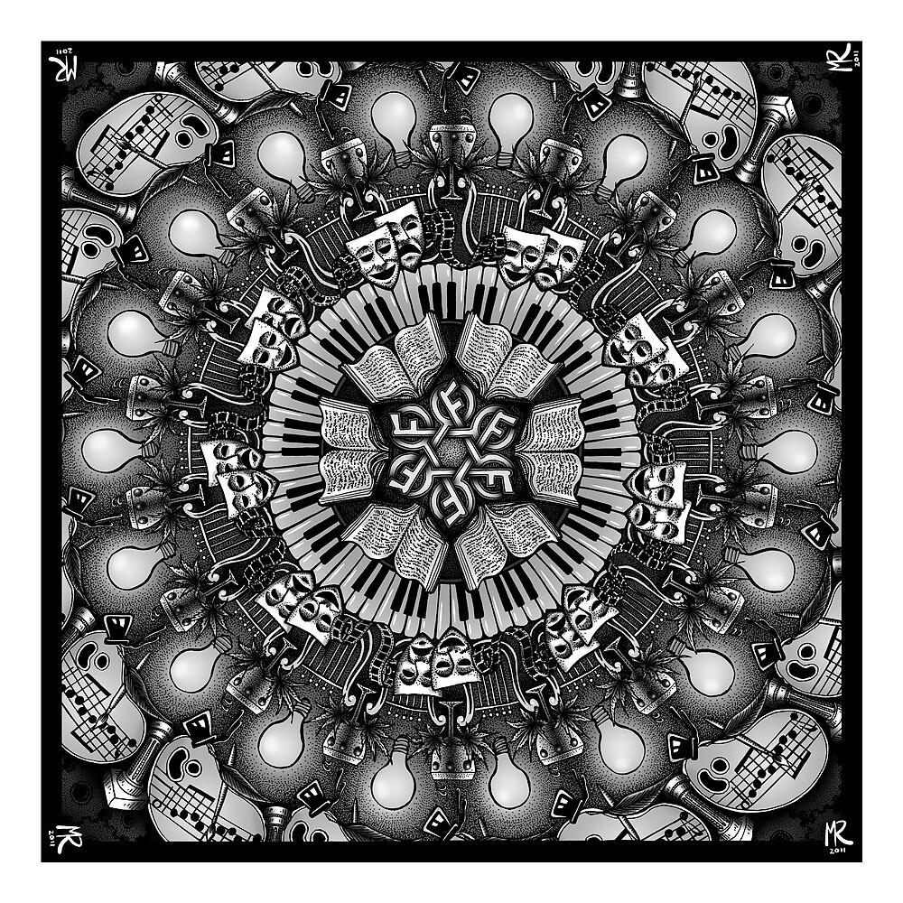 The Arts Mandala by Matt Ridgway