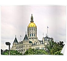 Connecticut State House  Poster