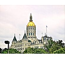 Connecticut State House  Photographic Print