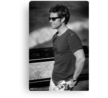 Surfs Up [Jamie Bamber) Canvas Print