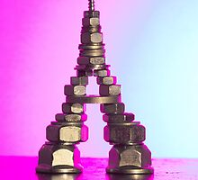 Pink Eiffel by Lindie Allen