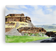 Farm in Moses Coulee Canvas Print