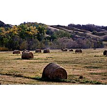 Fall In the Qu' Appelle Valley Photographic Print