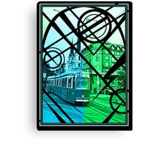 Electric Trolley Canvas Print