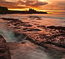 Tantallon Sunset by Don Alexander Lumsden (Echo7)
