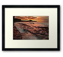 Tantallon Sunset Framed Print