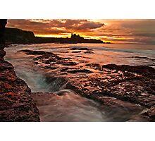Tantallon Sunset Photographic Print
