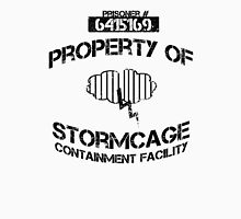 Stormcage Containment Facility Black Writing Unisex T-Shirt