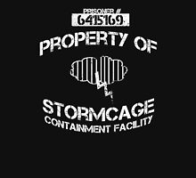 Stormcage Containment Facility White Writing Unisex T-Shirt