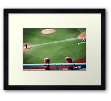 First Day in the Majors Framed Print