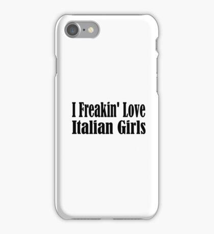 Italian iPhone Case/Skin
