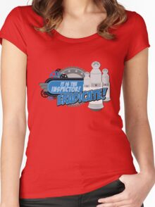 Blorgons - ERADICATE!!! Women's Fitted Scoop T-Shirt