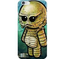 Creature from the Black Lagoon POOTERBELLY iPhone Case/Skin