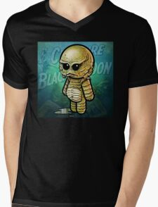 Creature from the Black Lagoon POOTERBELLY Mens V-Neck T-Shirt