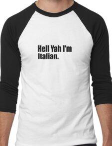 Italian Men's Baseball ¾ T-Shirt