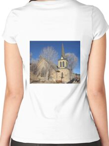 St. Paul's Episcopal Church  Women's Fitted Scoop T-Shirt