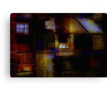 Urban Abstract Canvas Print
