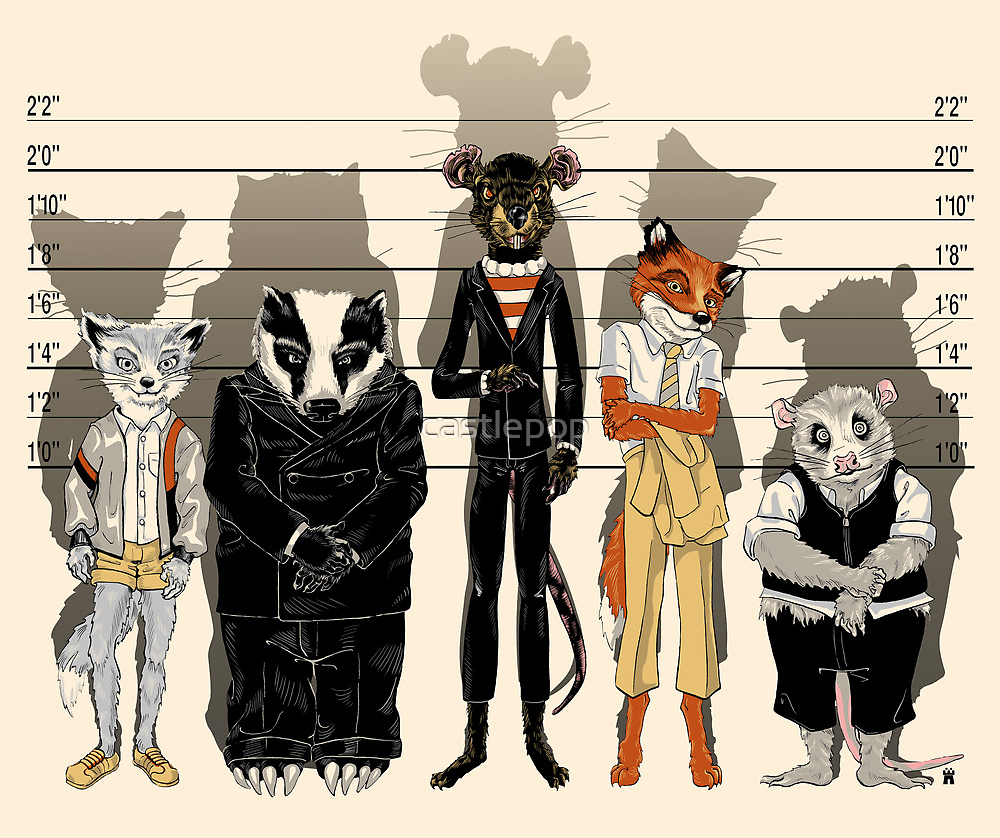 Unusual Suspects by castlepop