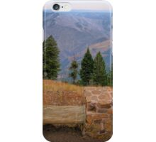 hells canyon overlook iPhone Case/Skin