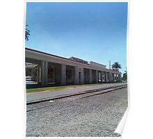 Santa Fe Depot In Redlands Poster