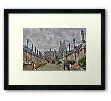South Vicars Close Framed Print