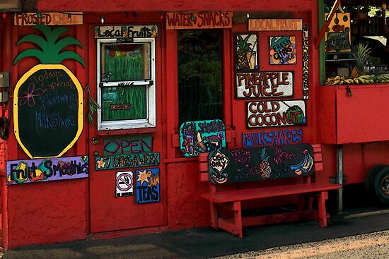 Hawaiian Juice Bar by James Eddy