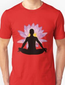 Yoga Lotus Pose - Meditation  T-Shirt