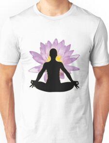 Yoga Lotus Pose - Meditation  Unisex T-Shirt