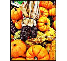 October Photographic Print
