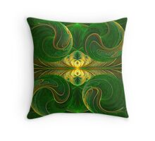 The Greenery Throw Pillow