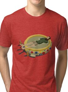 The Last Man on Earth - Margarita Pool Tri-blend T-Shirt