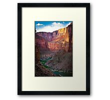Marble Canyon Cliffs Framed Print
