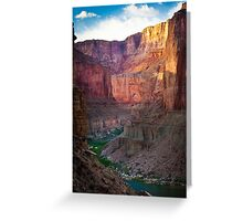 Marble Canyon Cliffs Greeting Card