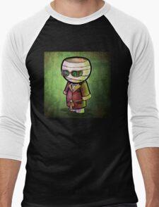 The Invisible Man POOTERBELLY Men's Baseball ¾ T-Shirt