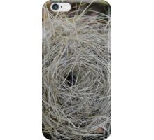birds nest on the ground iPhone Case/Skin