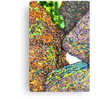c7-Bright Boulders Upclose Metal Print