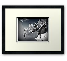Winter in the Cascades Framed Print