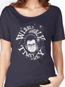 Wibbly-wobbly, timey-wimey... stuff. Women's Relaxed Fit T-Shirt