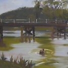 Audley bridge by Tash  Luedi Art