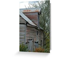 Barn, Ballan Victoria Greeting Card
