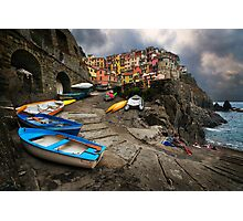Row Boats. Photographic Print