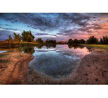 Swamp Flash Photographic Print