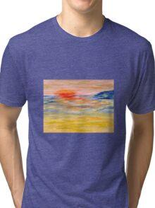 'Sea light' Tri-blend T-Shirt