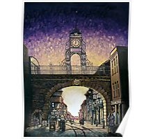 Eastgate Clock - Chester Poster