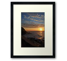 Dawn Hunt Framed Print