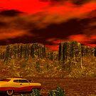 AN  ARMAGEDDON SCENE by Sazzart