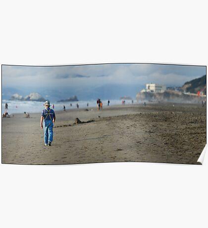 Ocean Beach, San Francisco Poster