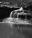 Sydney Waterfalls - Moores Creek Cascades #1 by vilaro Images