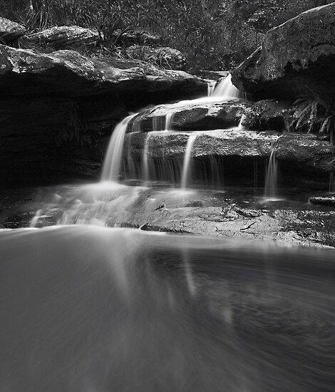 Sydney Waterfalls - Moores Creek Cascades #1 by vilaro Images